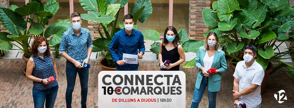 Connecta 10 Comarques a TAC12 TV